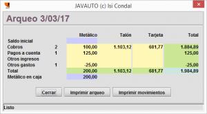 Javauto Isi Condal arqueo