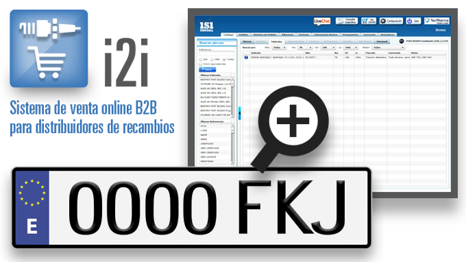La identificación correcta del vehículo por matrícula reduce tus devoluciones
