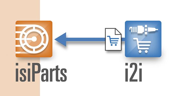 Importar el carrito de la compra de i2i a IsiParts