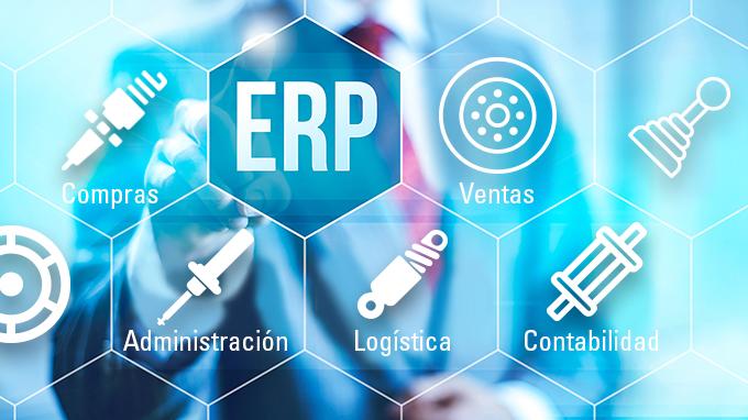 software ERP especializado en recambios de automoción