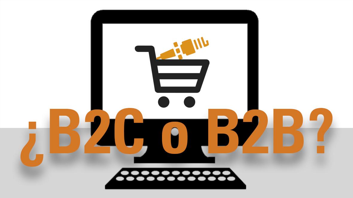 ¿Montar una tienda de recambios online B2C o B2B?