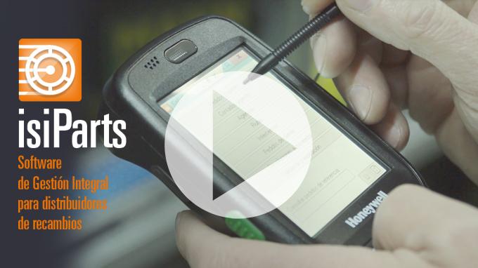Agiliza tu almacén de recambios usando PDA+IsiParts (VÍDEO)