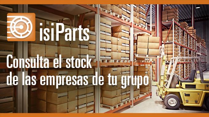 Consulta el stock de las empresas de tu grupo con IsiParts