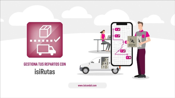 IsiRutas: App gestión del reparto para Distribuidores de Recambios (VÍDEO)
